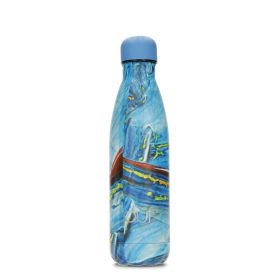 Blue Swirl Bottle - 500ml