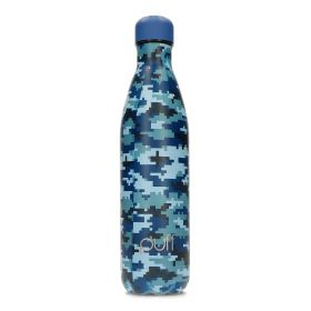 Blue Camo Bottle - 750ml