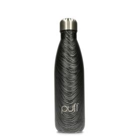 Wood Black Bottle - 500ml