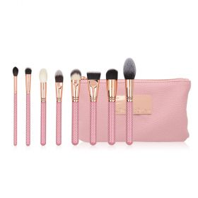 Ghadeer Sultan - Face Makeup Brush Set - 8pcs
