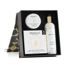 Spongelle - Flower Collection - Freesia Pear Gift Set