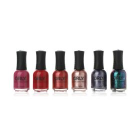 Deep Wonder Nail Polish Set - 6 Pcs
