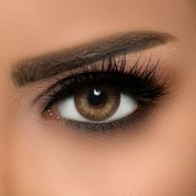 Dahab - Contact Lenses - Lumirere Brown - N17 (Monthly)