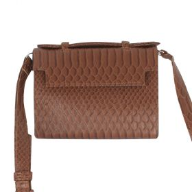 My Sac - Women Leather Clutch Bag - Brown
