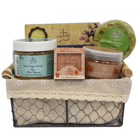 Bayt Saboun Skin Care Body Set - With Free Gift (Bayloun Mud Soap)