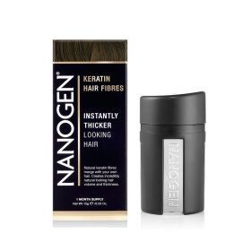 Nanogen - Instant Hair Fuller With Natural Keratin Fiberes Medium Brown - 15 Gm
