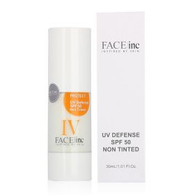 Face Inc - UV Defense Not Tinted Sunscreen SPF 50 - 30ml