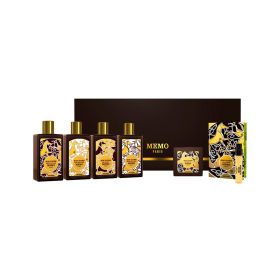 Memo - Bathline Irish leather guest kit - 6 pcs - 50 ml