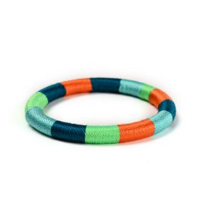 Happy-nes - Boho Bracelet - Jelly Belly Stripes - M/L