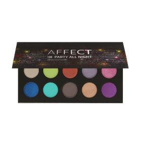 Affect Cosmetics -  Party All Night Pressed Eyeshadows Palette