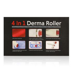 The Queen H -  4 In - Derma Roller For Face