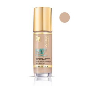 Aa Wings Of Color - Matt Filler Foundation - 211 Medium Tan