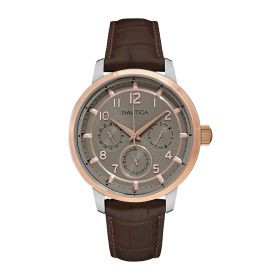 Mens Watch - Brown Leather
