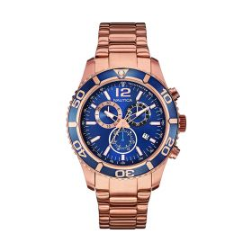 Mens Watch - Rose Gold - Stainless Steel
