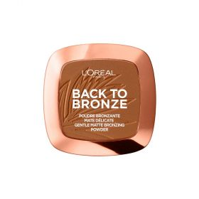 L'Oreal Paris - Back to Bronze Bronzing Powder -Sunkissed