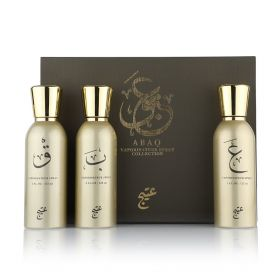 Abaq Collection  - 3 Pcs - 125 ml