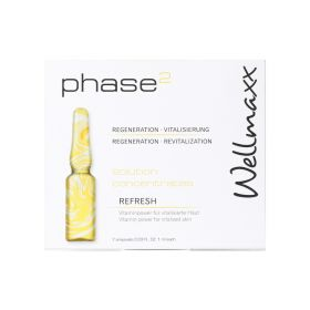 Wellmaxx - Solution Concentrates Refresh Phase2 (Vitamine) - 7 Ampoulles - 7 x 1ml