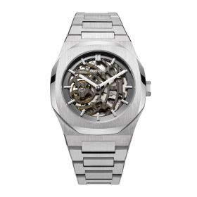 Skeleton Steel & Silver - Mens Watch