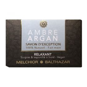 Amber & Argan Soap For Relaxation - 100 g