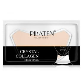 Pilaten - Crystal Collagen Neck Mask - 4pcs
