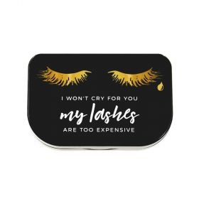 Lilly Lashes - I Won't Cry Storage Case