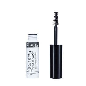 Rimmel - Brow This Way Eyebrow Gel With Organ Oil - Clear