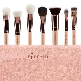 BJ Beauty - Professional Brush Set For Face - 7 Pcs