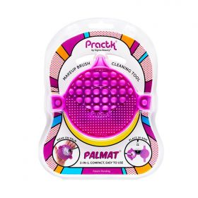 Practk - Palmat Purple - Makeup Brush Cleaning Tool