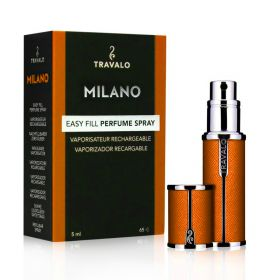 Milano Refillable Fragrance Spray - Orange