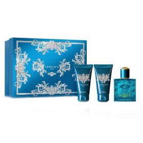 Versace - Versace Eros Fragrance Gift Set For Men - 3pc