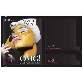 Double Dare - OMG! Peel Off Mask Kit - 3 in1
