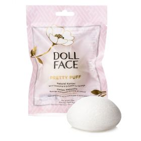 Doll Face Natural Konjac Skin Cleansing & Exfoliating Sponge