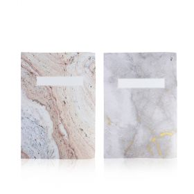 Doha Book - School Notebook - Marble