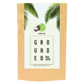Grounded Coconut and Lime Face Scrub