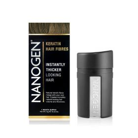 Nanogen - Instant Hair Fuller With Natural Keratin Fiberes Light Brown - 15 Gm