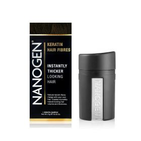 Nanogen - Instant Hair Fuller With Natural Keratin Fiberes Darke Brown - 15 Gm
