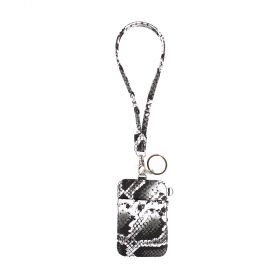 Keys & Card Holder Embossed Snake - Camouflage