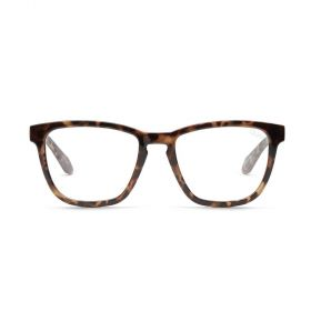 Hardwire Square Clear Blue Light  Tortoise Sunglasses
