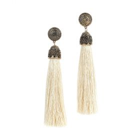 Ghadeer Albarjas - Silk Drop Earrings