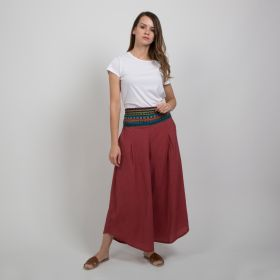 Boutique by 3AIN - Pink Stylish Wide cut Pants - Free Size