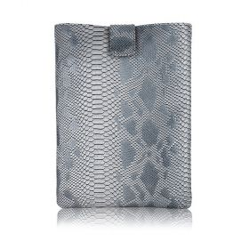File Folder Embossed Snake - Gray