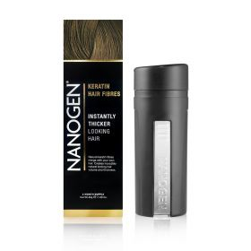 Nanogen - Instant Hair Fuller With Natural Keratin Fiberes Light Brown - 30 Gm