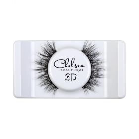 Chelsea - 3D Mink Strip Lashes - 26