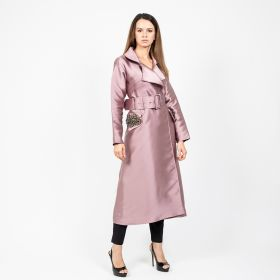 Rose Long Jacket - Dusty Rose - Small