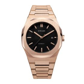 Rose Gold Stainless Steel - Mens Watch