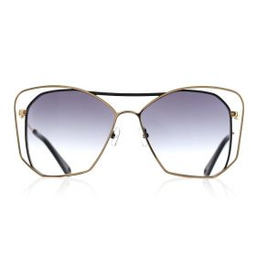 Eight - The trendy Butterfly Black & Gold / Black Sunglasses
