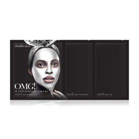 Double Dare - OMG Platinum Silver Mask Kit - 3 in1