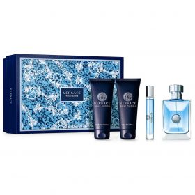 Versace - Versace Pour Homme for Men Fragrance Gift Set - 4pc