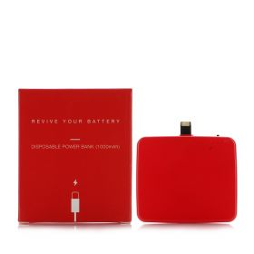 Disposable Power Bank - Red