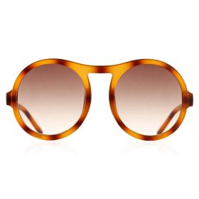 Y8 -  Round Brown Sunglasses